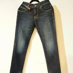DSQUARED Dungaree Collection Skinny Jeans sz 29